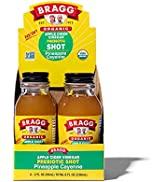 Bragg Organic Apple Cider Vinegar Shot with Pineapple Cayenne – 2 Oz ACV Shot – USDA Certified Or...