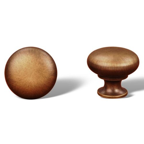 Rk International - Antique English Rki Thin Mushroom Knob (Rkick1118Ae)