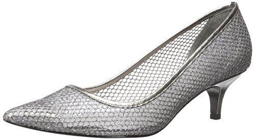 Adrianna Papell Women's Lois Dress Pump, Gunmetal, 5.5 M US
