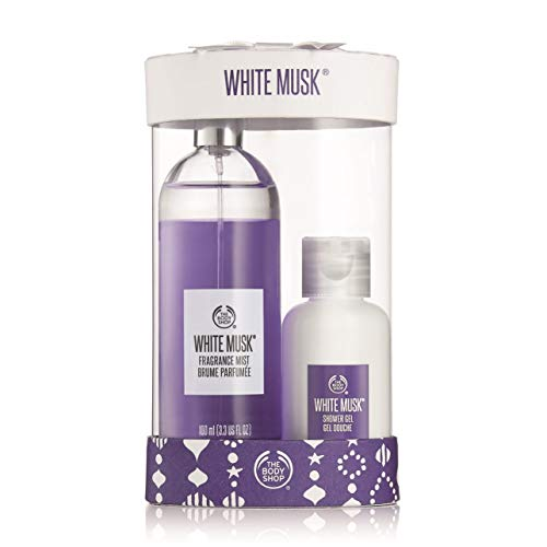 The Body Shop White Musk Mist & Shower Duo, 5.41 Fluid Ounce