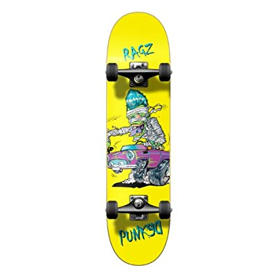 """Yocaher Hot Rod Series Graphic Complete Skateboard 7.75"""" Skateboard (Complete -03-7.75"""" Hot Rod Ragz) : Sports & Outdoors"""