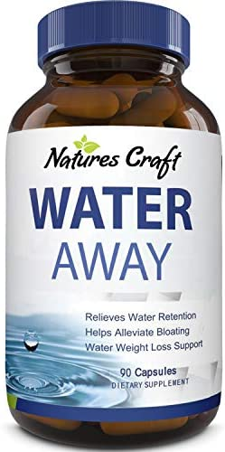 Water Away Supplement For Men And Women Natural Diuretic