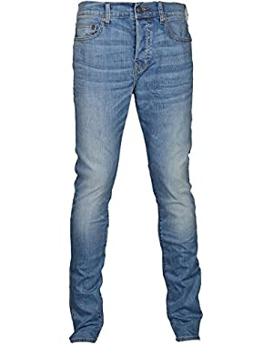 Men's Relaxed Skinny Rocco Jeans Pale