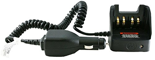 (RLN4884 Motorola Original OEM Travel Battery Charger Car cradle and power supply includes volt regulator light adapter, custom charger base, coil cord & mounting bracket works with ASTRO XTS5000 XTS3500 XTS3000 XTS2500 XTS1500 MT1500 MTS2000 PR1500 HT1000 MTX8000 & MTX9000 for batteries NTN9815 NTN9816 NTN9858 NTN9857 NNTN7335 NNTN7453 NNTN7554 PMNN4093 NTN9862 NTN8294 WPNN4013 NTN7143 NTN7144)