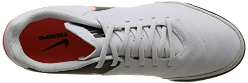 Weiß Orng Tiempo Genio Nike Football Pure Homme hypr de Black Compétition Leather Il 001 Chaussures Platinum Blanc vZ1T1q