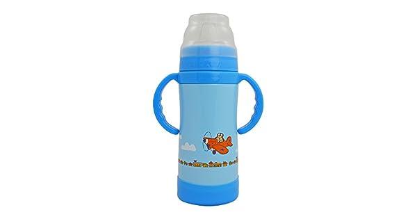 Amazon.com: EcoVessel Sippy Botella de agua de acero ...