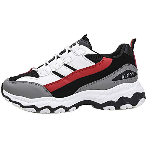 kaifongfu Sports Shoes for Men Outdoor Sports Shoes Casual Shoes(Red,39) from kaifongfu