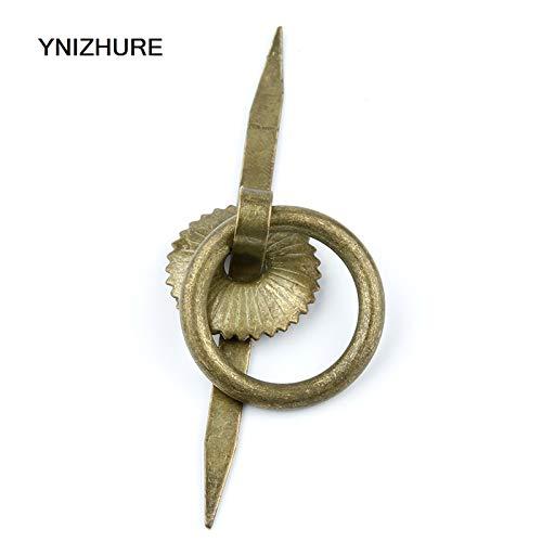 30pcs 2382mm Antique Mini tea pot handle ancient wooden antique accessories decorative iron knob