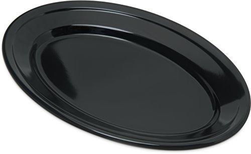 Carlisle 4356303 Dallas Ware Melamine Oval Platter Tray, 9.25