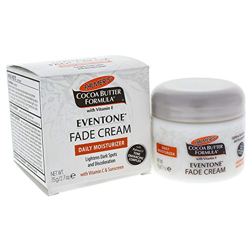 Palmer's Cocoa Butter Formula Eventone Fade Cream Daily Moisturizer for Dark Spots & Discoloration, 2.7 oz. (Best Acne Treatment For African American Skin)
