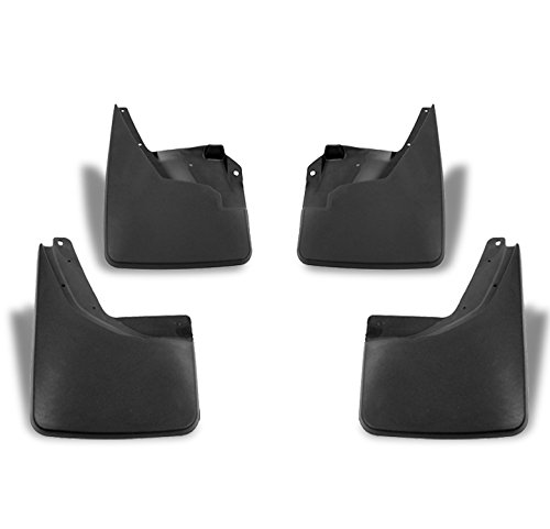 ZMAUTOPARTS Hummer H3 Mud Flaps Splash Guards Mudguard Black 4Pcs Front+Rear Combo