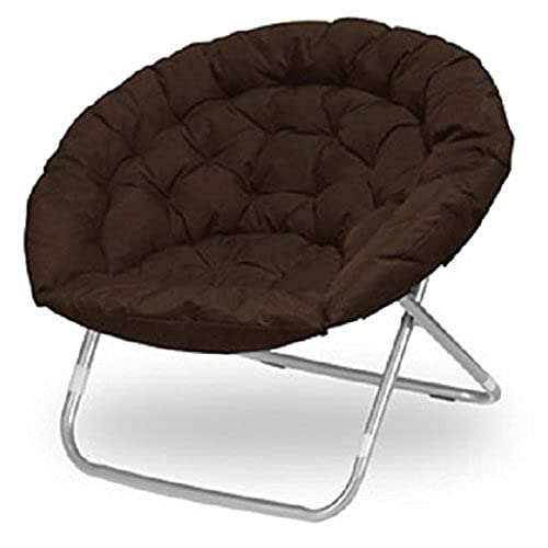 Large Oversized Folding Moon Chair (Brown)  sc 1 st  Amazon.com & Oversized Round Chair: Amazon.com