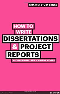Order of writing a dissertation