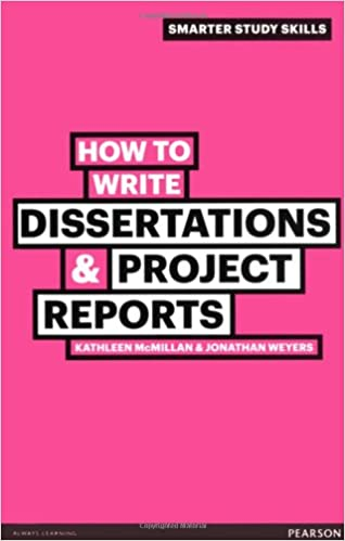 Books on how to write dissertations