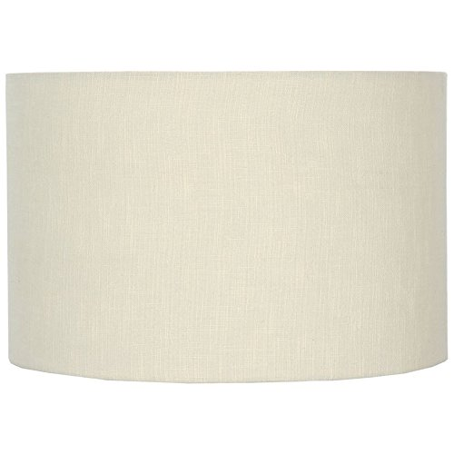 Modern 45cm cream double lined linen drum lamp shade cylinder modern 45cm cream double lined linen drum lamp shade cylinder mozeypictures Images
