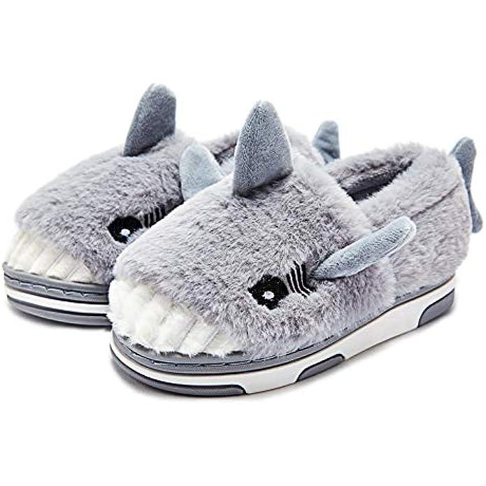 Toddler Boys Girls Warm Indoor Home Slippers