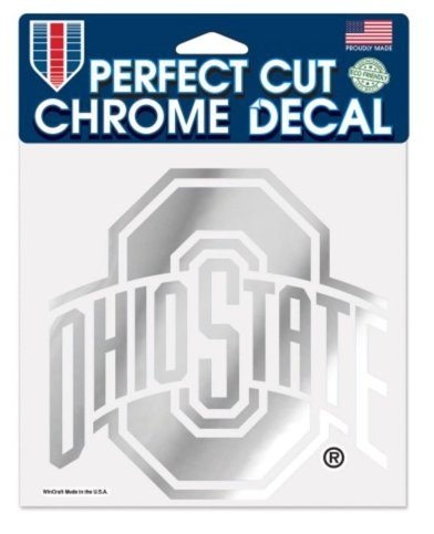 Wincraft NCAA Chrome Perfect Cut Decal
