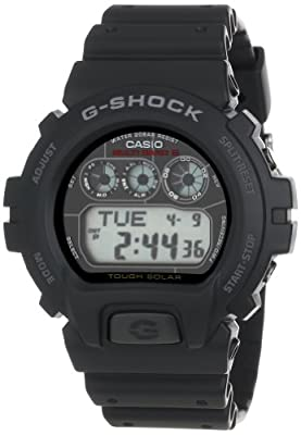 "Casio Men's GW6900-1 ""G-Shock"" Atomic Digital Sport Watch"