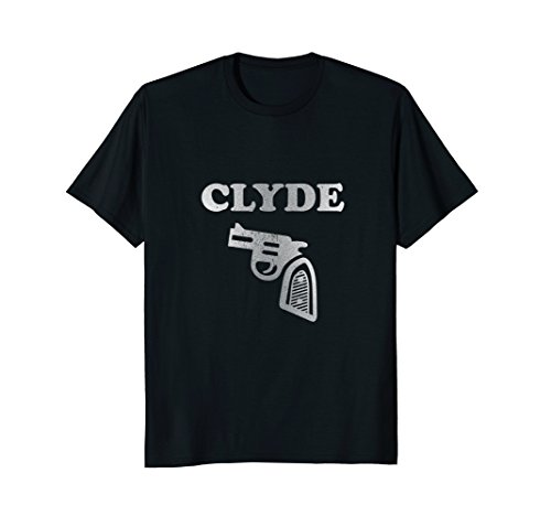 Vintage Bonnie & Clyde Couples or Group Costume Gift Tee -