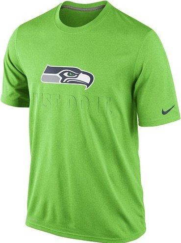 Nike Men's Short-Sleeve Seattle Seahawks Legend JDI T-Shirt