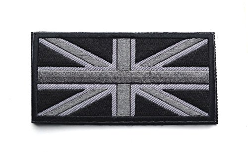 Union Jack Uk Great Britain Flag United Kingdom British Blac