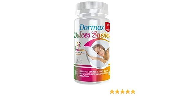 Dormax Dulces Sueños con 1,8 mg de melatonina - 120 comprimidos masticables de sabores: Amazon.es: Salud y cuidado personal