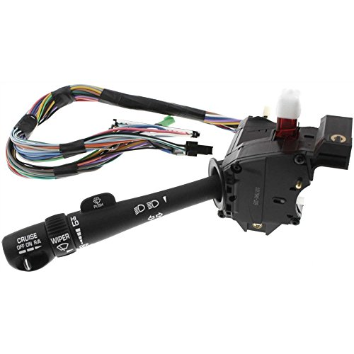 Evan-Fischer EVA16172018518 Combination Switch for Toyota Celica 80-81/Chevy C/K Full Size Pickup 99-02 High and Low Beam Dimmer