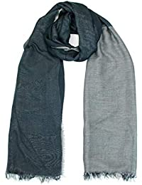 100% made in Italy Eco-Friendly Scarf Cover for Mask Shawl Stole Wrap Soft Lightweight Oversized Women Men