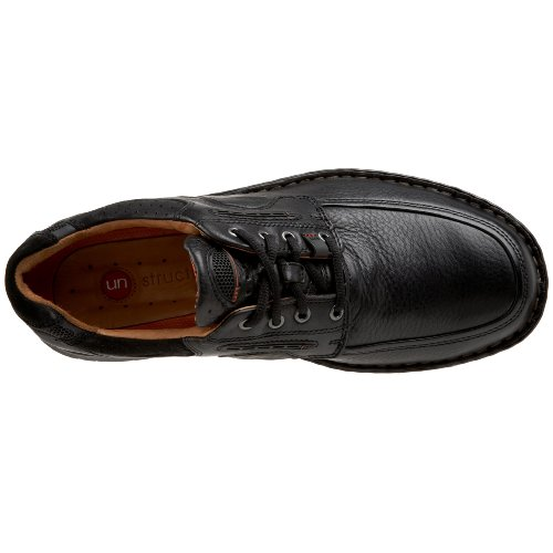 Clarks Unstructured Un.Bend Lã¤ssige Oxford Black