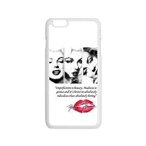 Marilyn Monroe Red Lips Pattern Plastic Case For Iphone 6 Kimberly Kurzendoerfer