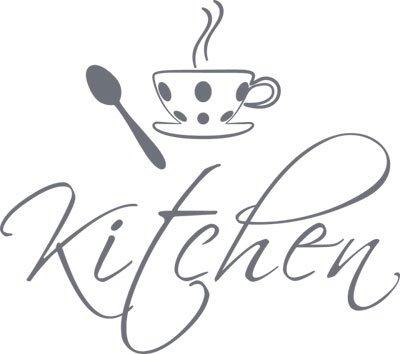Design da Porta con Scritta in Inglese da Cucina Kitchen ...