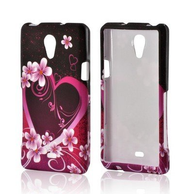 - Bundle Accessory for AT&T Sony Ericsson Xperia TL LT30at - Purple Flower Designer Case Protective Cover + Lf Stylus Pen + Lf Screen Wiper