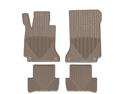 WeatherTech All-Weather Floor Mats for C-Class - 1st & 2nd Row - MB W204 T (Tan)