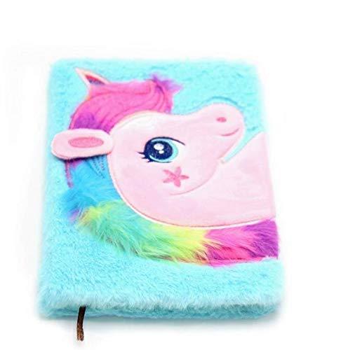2-OYSS Beautiful Unicorn Notebook Diary for Kids/Girls/Boys (Pack of 1) (Blue) (B07PMBKYH8) Amazon Price History, Amazon Price Tracker