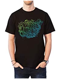 Rick and Morty T Shirt Wubba Lubba Logo Official Mens New Black