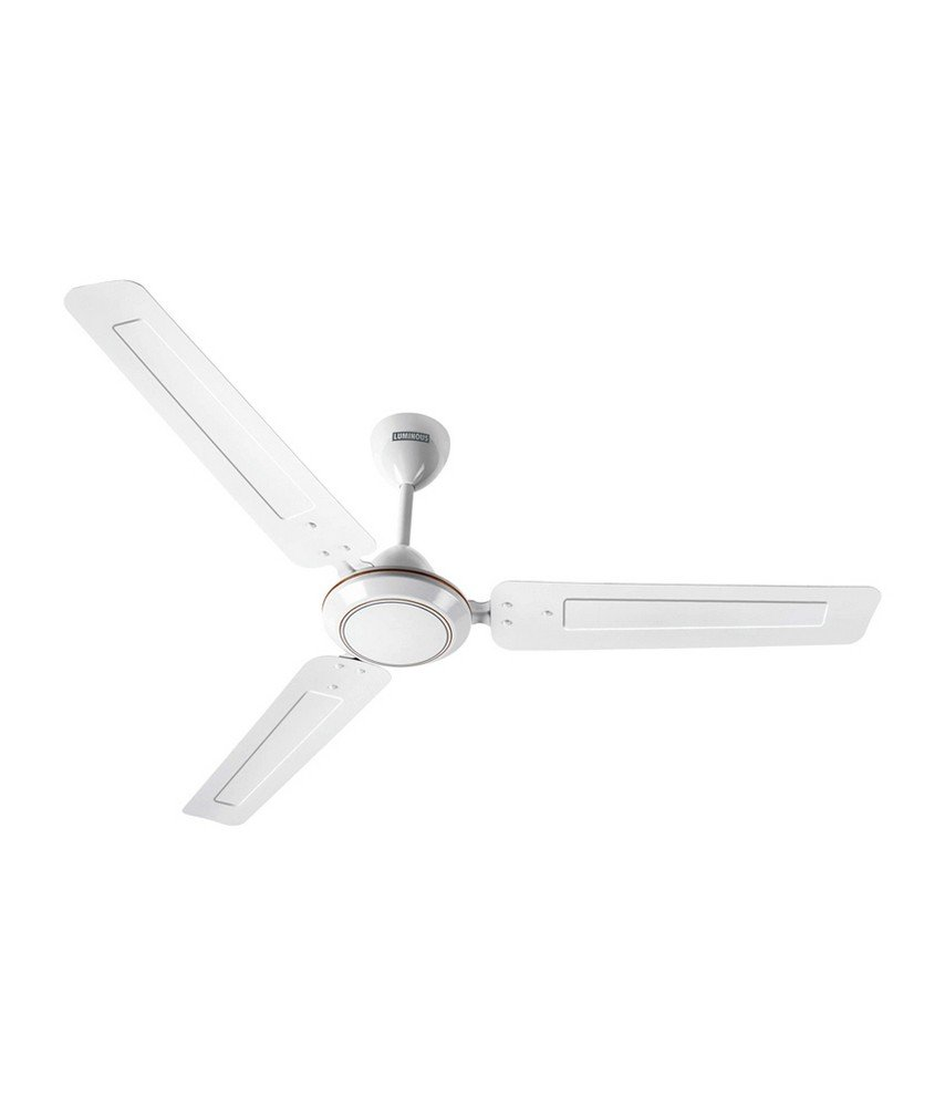 Luminous Morpheus 1200mm Ceiling Fan (White)