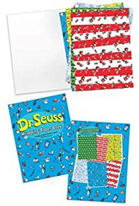 Dr Seuss Cat Hat, One Fish Etc Gift Wrap Wrapping Paper Set