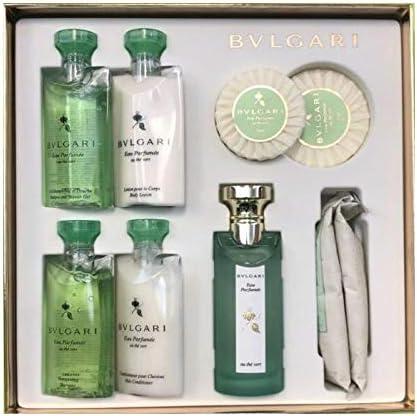 Bulgari Eau Parfumée au thé vert Guest Set Eau De Cologne 75 ML: Amazon.es: Belleza