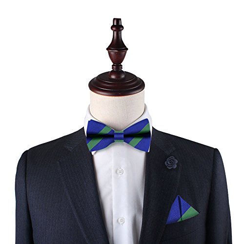 Red for Men Gifts 5 Ties Blue Groomsmen Warranty Bow Green Bow Tie Stripe Navy Year 418awd4q