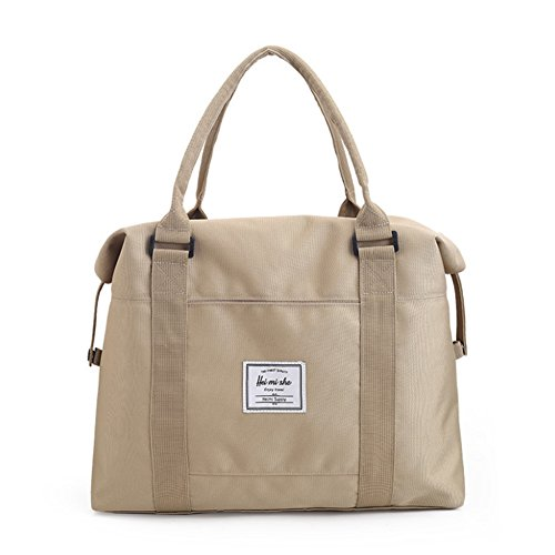 Large Canvas Tote TYJH Luggage 40Cm Outdoor Travel 12Cm 42Cm Casual Capacity beige OFWYwTE0qw