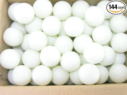 144 Washable Plastic Beer Pong Balls 1 Gross