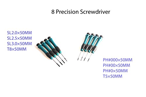 SJ-PT 37 PC Screwdriver Set with Storage Rack, Magnetic Screwdriver Driver Kit, Professional Repair Tool For Home by SJ-PT (Image #2)
