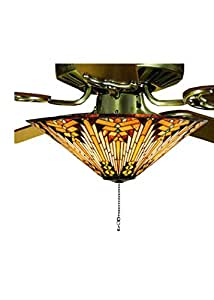 "Meyda Tiffany 73124 Lighting, 17"" W Bronze/Dark - - Amazon.com"