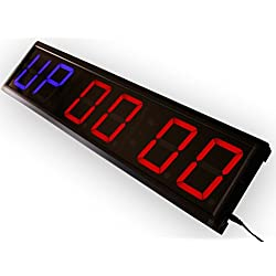 EU Programmable GYM interval countdown countup and stopwatch 4 6 digits