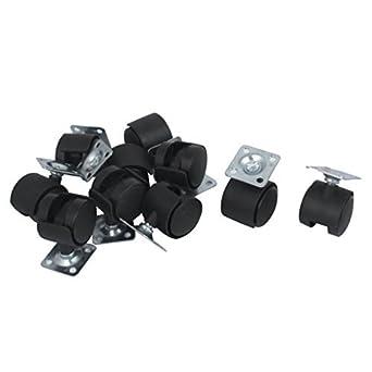 eDealMax rueda DE 1 pulgada Dia Metal Placa Superior giratoria rodamiento de Bolas Ruedas 10 piezas: Amazon.com: Industrial & Scientific