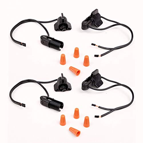 Malibu Low Voltage Fastlock Landscape Cable Twist Connector of 2 Set