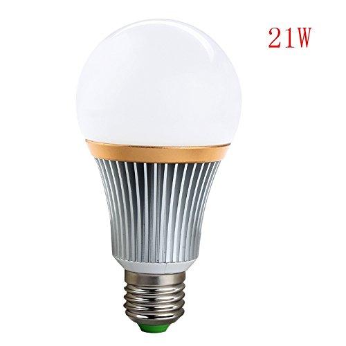 Alice regulable E27 Bombillas LED de bajo consumo de luz de bombilla 21 W Blanco Frío 220 V AC: Amazon.es: Iluminación