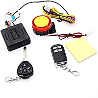 Cutelook TM 12v Universal Motorcycle Motorbike Scooter Compact Security Alarm System Remote Control Engine Start for Suzuki Honda Yamaha Kawasaki, Harley Davidson and all Other Motorcycles