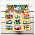 Melissa & Doug Small Slat Wall Basket from Melissa and Doug