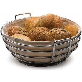 Round Bread Basket – Brown